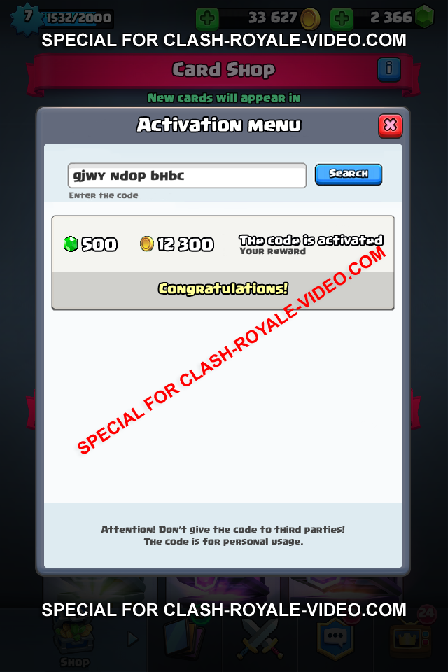 <b>Clash Royale Cheats</b> and Hack – a lot of money and gems